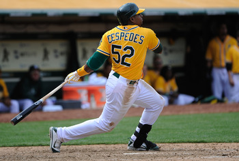 Cespedes is flashing Bo Jackson-like talent.