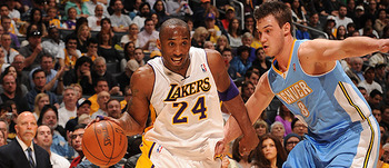 The first-round series between the Lakers and Nuggets will take seven games to complete.