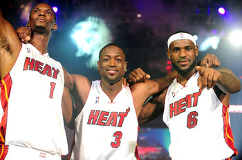 After coming up short last season, the Miami Heat and their Big Three will accomplish their goal of winning an NBA Championship.