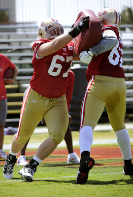 The 49ers appear ready to start Daniel Kilgore at guard.