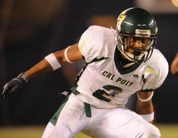 Asa Jackson builds depth and helps special teams (Photo Courtesy: GoPoly.com)