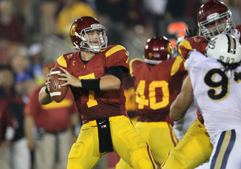 Matt Barkley plays in a program at USC that has produced plenty of Heismans.