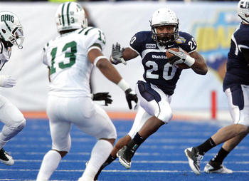 Utah State RB Michael Smith (photo courtesy of the Deseret News).
