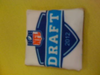 We're done! Have an NFL Draft cookie.