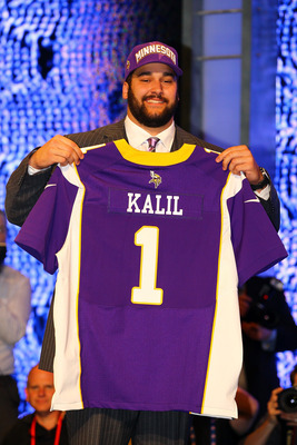 "At 6'5"" and 310 pounds Matt Kalil will fill Minnesota's left tackle position for the next 10 seasons and do so at a high level."