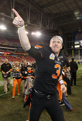 Brandon Weeden is the oldest player ever drafted in the first round.