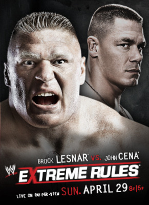 Kind of looks like Cena is in Brock's shadow here