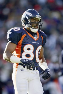 Rod Smith is the all-time leading receiver among undrafted players.