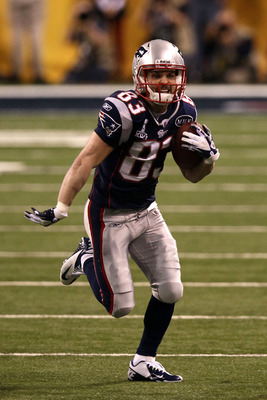 Welker has been one of the most prolific wide receivers in the league since joining the Patriots.