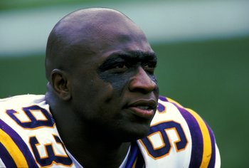 John Randle is probably the best defensive tackle of all time.