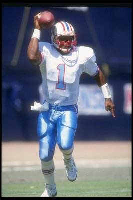 Warren Moon put on a hell of a show for an undrafted quarterback.