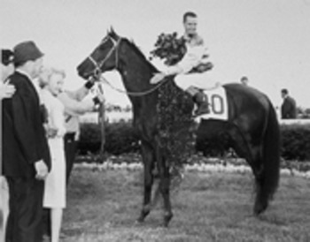 Carryback won the 1961 Kentucky Derby and Preakness