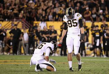 Grant Ressel is a kicker, and the Steelers surely needed one