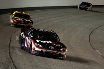 Denny Hamlin backed up his Kansas win with a fourth-place effort at Richmond