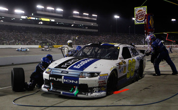 Despite a late penalty that cost him the win, Carl Edwards had a great night at Richmond