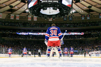 Lundqvist is putting this Stanley Cup run all on his shoulders.