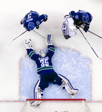 The Canucks were flat-out beaten by the Kings.