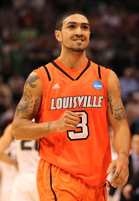 Peyton Siva is happy. Coming off a Final Four season, wouldn't you be?