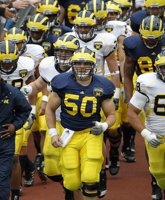 David Molk was the best center in college football last season, and a huge leader in Michigan's locker room.