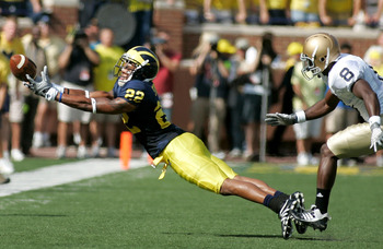 Darryl Stonum was expected to be Michigan's feature receiver this year, but Stonum couldn't stay out of trouble and was kicked off the team.