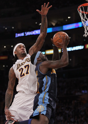 Ty Lawson is keeping the Nuggets within striking distance.