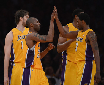 Kobe's 39. Bynum's triple-double. Gasol & Ebanks' versatility. It's all coming together in LA.