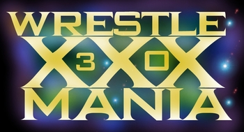 Custom WrestleMania XXX/30 logo, made by me.
