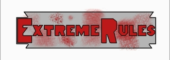 Simple custom Extreme Rules logo, made by me.