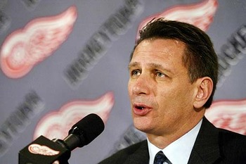 Photo Credit: themajors.net -- Ken Holland, GM of the Red Wings, has some work to do after Detroit's quick exit from the playoffs.