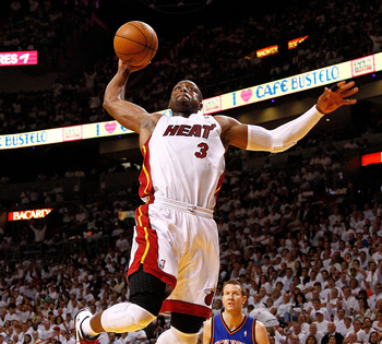 Dwyane Wade soars above the competition.