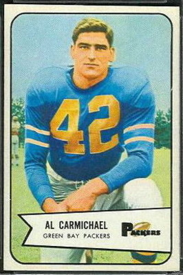 Al_carmichael_football_card_display_image