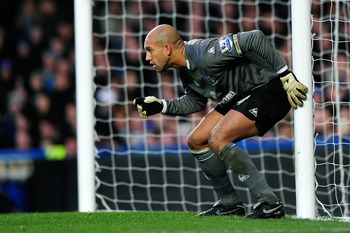 Tim Howard's record against Chelsea is superb.