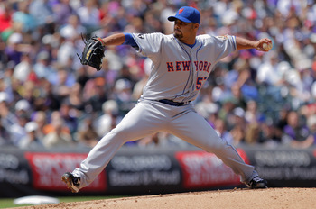 Johan Santana shut down the Braves on Opening Day.