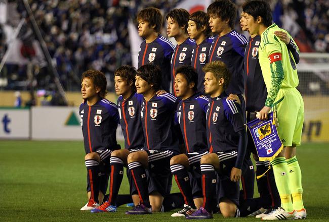 Japan national football team in 2012