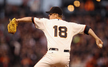 With Tim Lincecum struggling, Matt Cain has been the Giants' ace.
