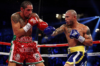 Cotto in Action Against Margarito