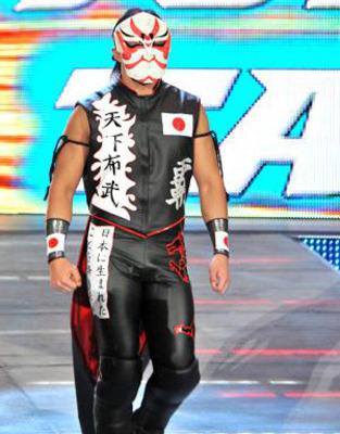 You see, the problem with this outfit, is that it's just too cool for a jobber.
