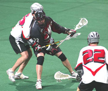 Gary Gait playing for Colorado back in the day. (Photo: e-lacrosse.com)