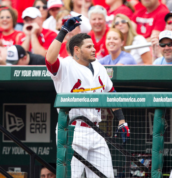 Yadier Molina is the glue that holds the Cardinals together.