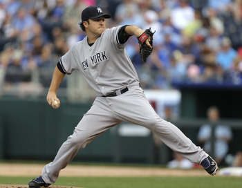 Hughes pitched well on Sunday leading the Yankees to a 10-4 win over the Royals