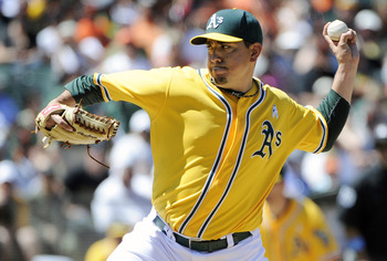 A's pitcher Brian Fuentes