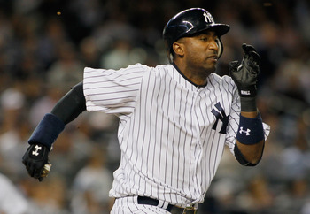 Yankees backup shortstop Eduardo Nunez