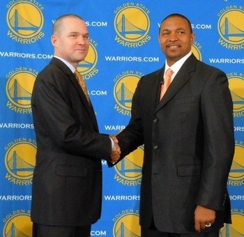 Mark Jackson and Michael Malone, his top assistant