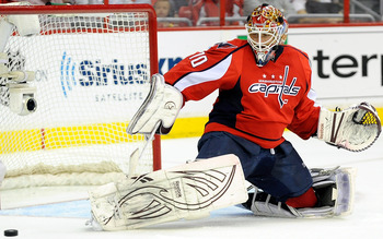 The story of the 2012 NHL playoffs: Washington Capitals goaltender Braden Holtby.