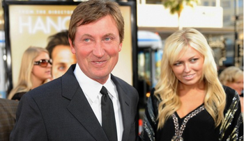Wayne Gretzky has a daughter? Yes he does.
