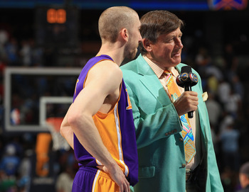Steve Blake's outside shooting and Craig Sager's suit could spell trouble for OKC.