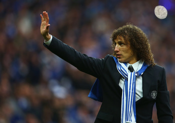 David Luiz hopes to healthy for the Champions League Final.