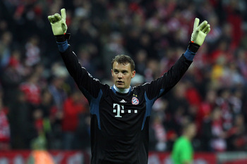 Manuel Neuer has become on of the best goalkeepers in the world.
