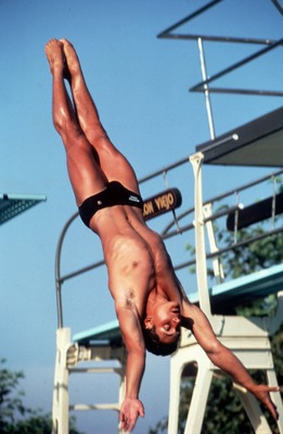 Louganis' 5 Olympic Diving medals remain a USA record.