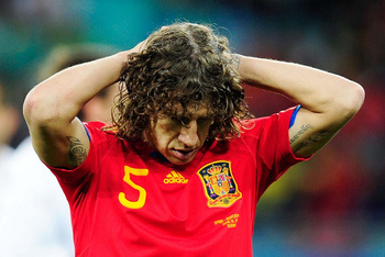 Puyol out for Euro 2012